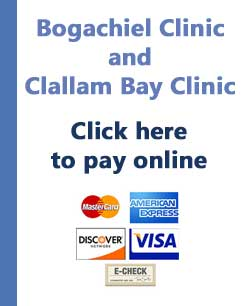 Bogachiel and Clallam Bay Clinics Online bill Pay