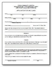 CNA Application
