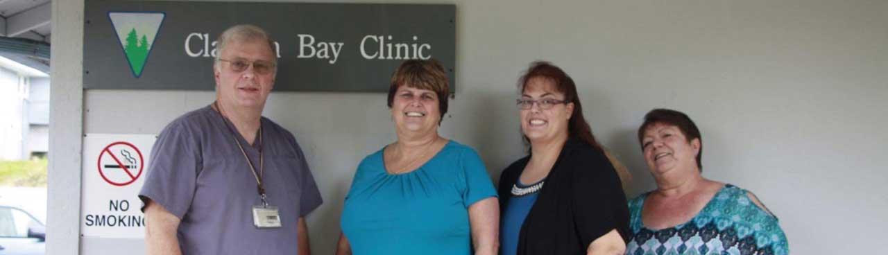 meet the staff at Clallam Bay Clinic